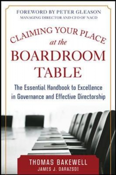 Claiming Your Place at the Boardroom Table