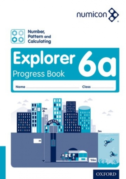 Numicon Number Pattern and Calculating 6 Explorer Progress New Paperback Free UK