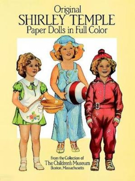 Original Shirley Temple Paper Dolls in Full Colour