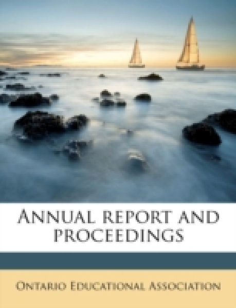 Annual report and proceedings