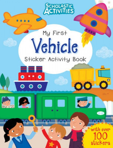 My First Vehicle Sticker Activity Book Ian Cunliffe New Paperback Free UK Post