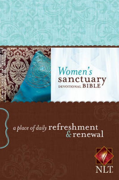 Women\'s Sanctuary Devotional Bible-NLT