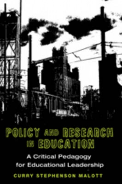 Policy and Research in Education 9781433108303 Curry Stephenson Malott New Hardb