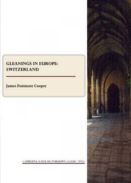 Gleanings in Europe James Fenimore Cooper Paperback New Book Free UK Delivery