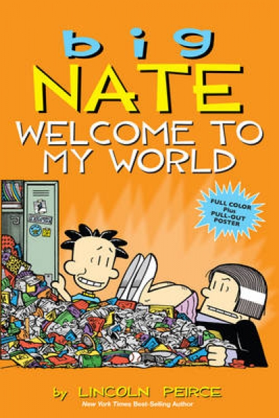 Big Nate Welcome To My World Lincoln Peirce Paperback New Book Free Uk Delivery