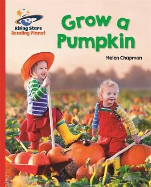 Reading Planet - Grow a Pumpkin - Red B Galaxy Helen Chapman Paperback New Book