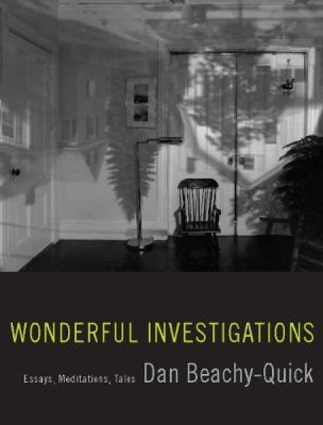 Wonderful Investigations Dan Beachy-Quick Paperback New Book Free UK Delivery