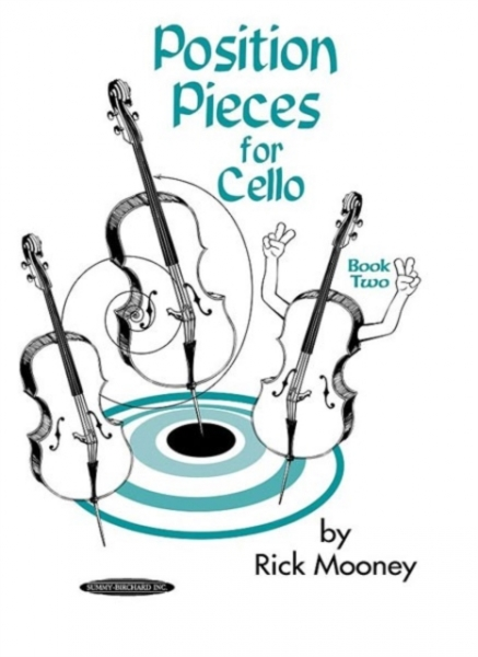 Position Pieces for Cello Bk 2 Rick Mooney New Paperback Free UK Post