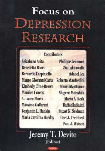Focus in Depression Research Jeremy T. Devito New Hardback Free UK Post