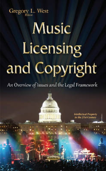 Music Licensing & Copyright Gregory L. West Hardback New Book Free UK Delivery