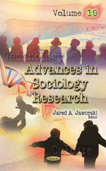 Advances in Sociology Research 9781634855075 Jared A. Jaworski Hardback New Book