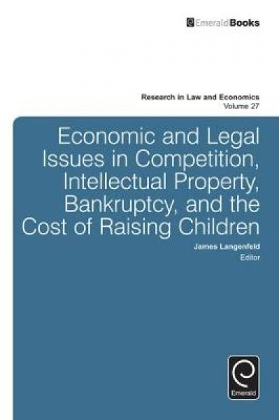 Economic and Legal Issues in Competition Intellectual Property Bankruptcy and th