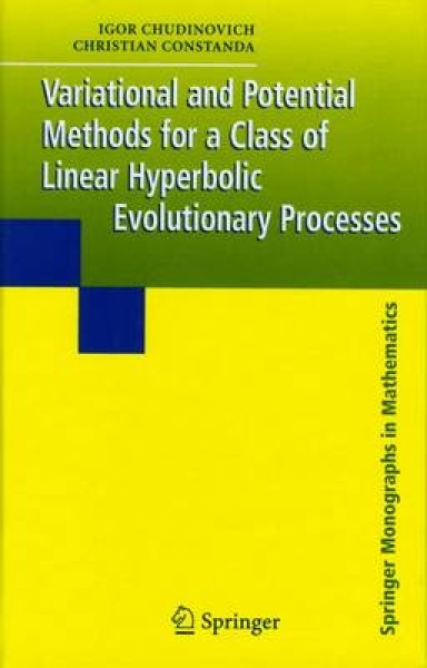 Variational and Potential Methods for a Class of Linear Hyperbolic Evolutionary Processes