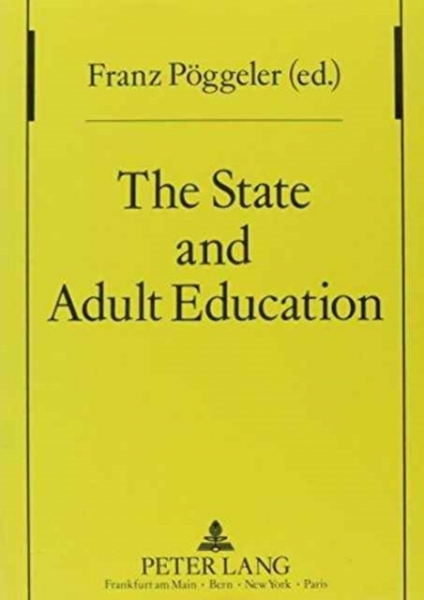 State and Adult Education Franz Poggeler Paperback New Book Free UK Delivery