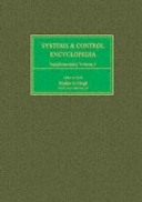 Systems and Control Encyclopedia