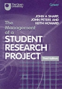 The Management of a Student Research Project