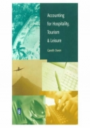 Accounting for Hospitality, Tourism and Leisure