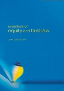 Essentials of Equity and Trusts Law