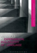 Advances in Experimental Philosophy of Language
