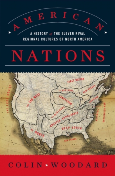 American Nations Colin Woodard Paperback New Book Free UK Delivery
