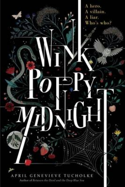 Wink Poppy Midnight April Genevieve Tucholke Paperback New Book Free UK Delivery