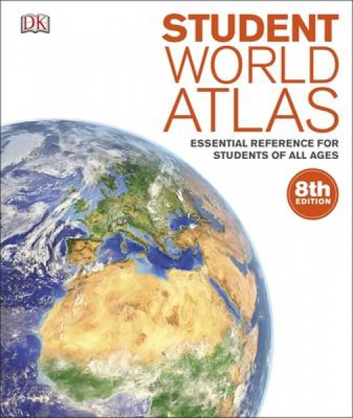 Student World Atlas DK Paperback New Book Free UK Delivery