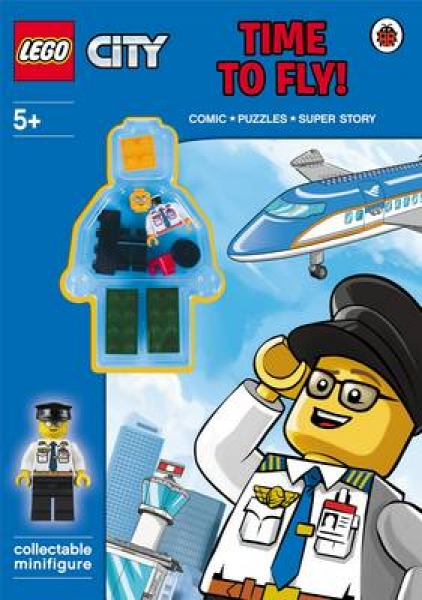 LEGO City Time to Fly Paperback New Book Free UK Delivery