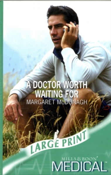 Doctor Worth Waiting for Margaret McDonagh Hardback New Book Free UK Delivery