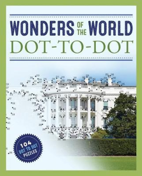 Wonders of the World Dot-to-Dot James Brisson Paperback New Book Free UK Deliver