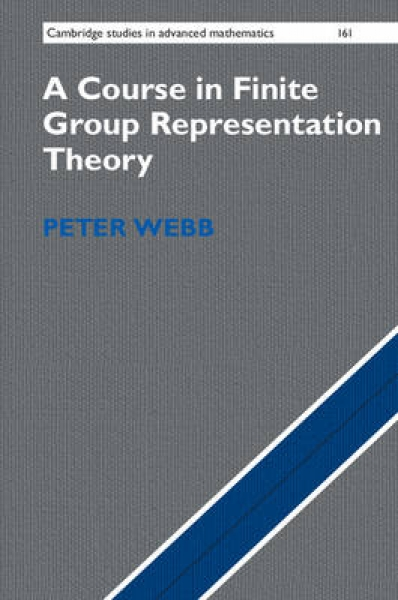 A Course in Finite Group Representation Theory Peter Webb Hardback New Book Free