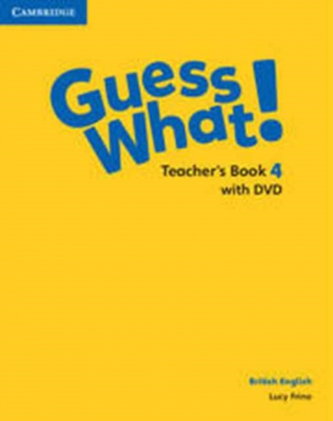 Guess What Level 4 Teachers Book with DVD British English Lucy Frino Mixed media