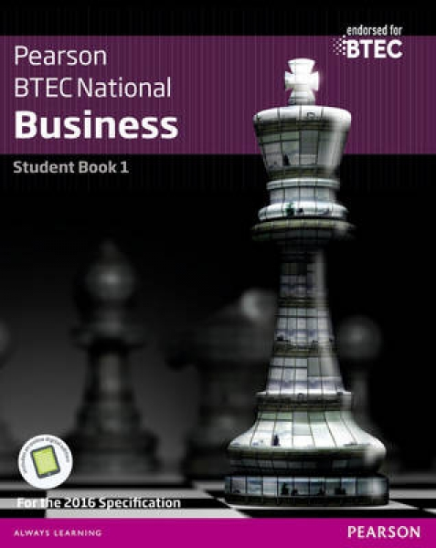 BTEC Nationals Business Jenny Phillips Helen Coupland-Smith Catherine Richards J