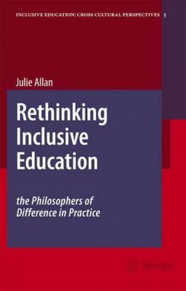 Rethinking Inclusive Education Julie Allan Hardback New Book Free UK Delivery