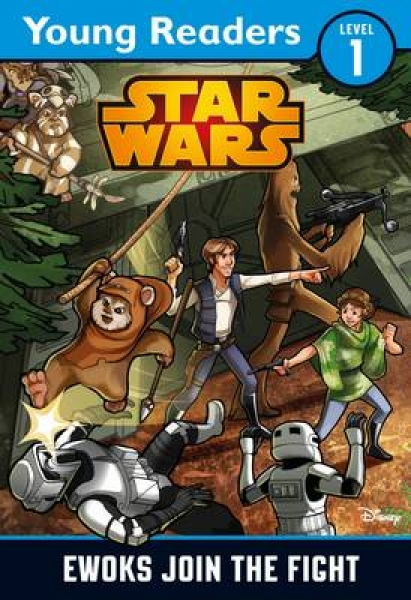 Star Wars Ewoks Join the Fight Lucasfilm Ltd Paperback New Book Free UK Delivery