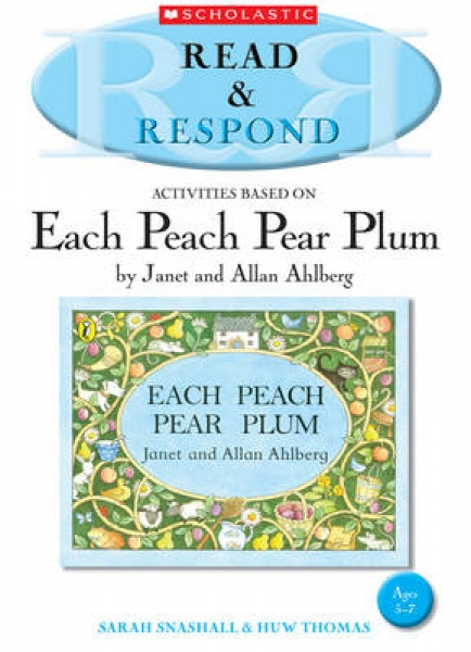 Each Peach Pear Plum 9781407127293 Sarah Snashall Huw Thomas Paperback New Book