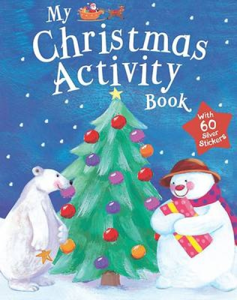Shaped Christmas Activity Paperback New Book Free UK Delivery