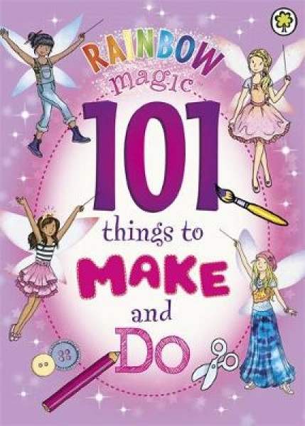101 Things to Make and Do Daisy Meadows Georgie Ripper Paperback New Book Free U