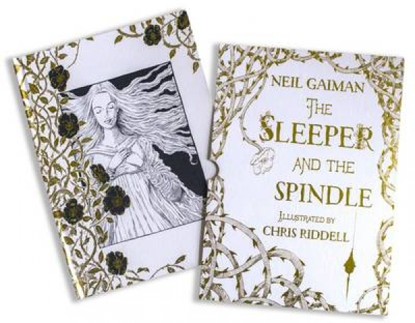 The Sleeper and the Spindle 9781408878422 Neil Gaiman Chris Riddell Book New Boo