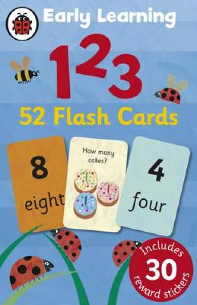 Ladybird Early Learning 123 Flash Cards Ladybird Cards New Book Free UK Delivery
