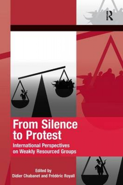 From Silence to Protest Didier Chabanet Frederic Royall Hank Johnston Hardback N