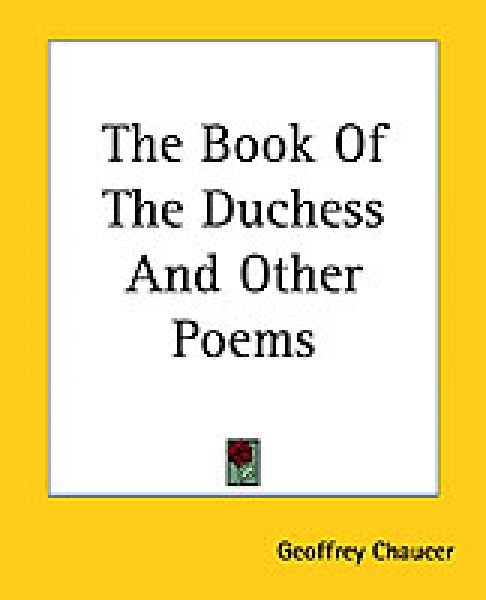 Book Of The Duchess And Other Poems Geoffrey Chaucer Paperback New Book Free UK
