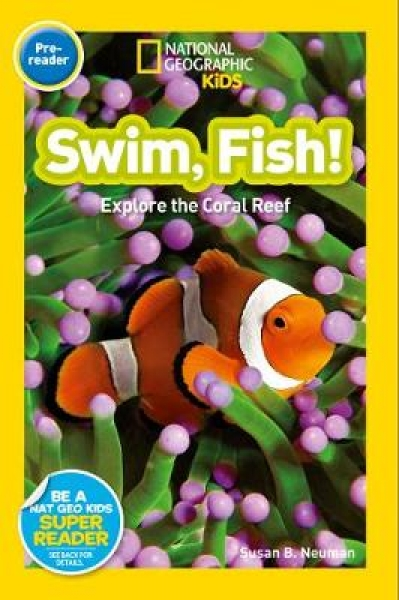 Swim Fish National Geographic Kids Paperback New Book Free UK Delivery