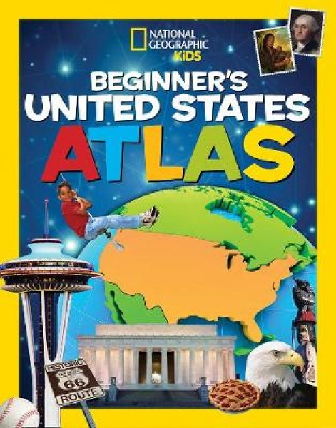 Beginners US Atlas National Geographic Paperback New Book Free UK Delivery