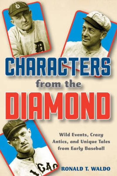 Characters from the Diamond Ronald T. Waldo Hardback New Book Free UK Delivery