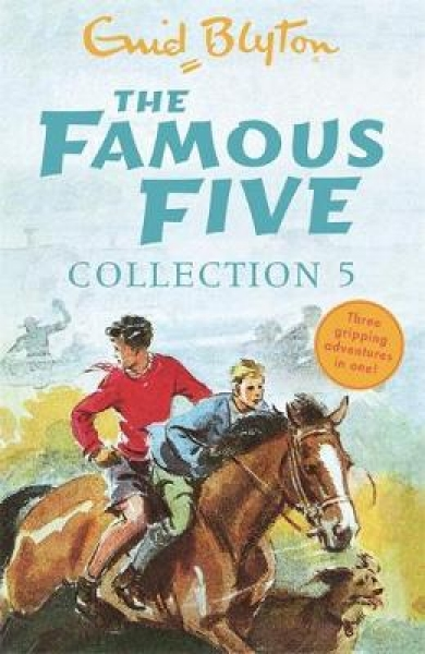 The Famous Five Collection 5 Enid Blyton Paperback NEW Book