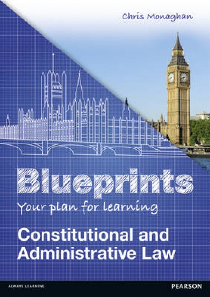 Blueprints Constitutional and Administrative Law Chris Monaghan Paperback New Bo