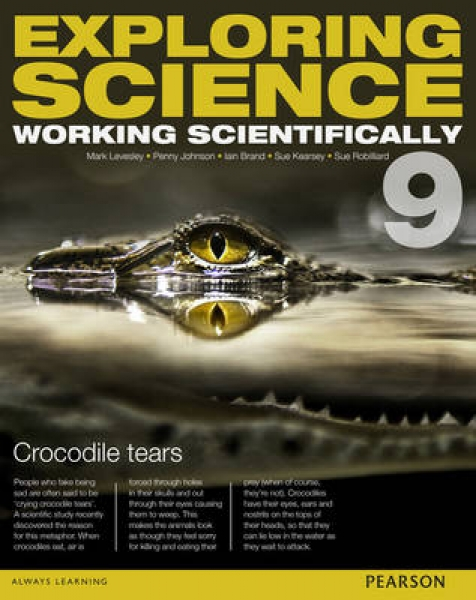 Exploring Science Working Scientifically Student Book Year 9781447959625 P Johns