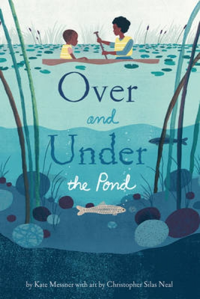 Over and Under the Pond Kate Messner Christopher Silas Neal Hardback New Book Fr