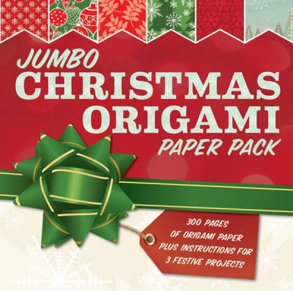 Jumbo Christmas Origami Sterling Publishing Company Paperback New Book Free UK D