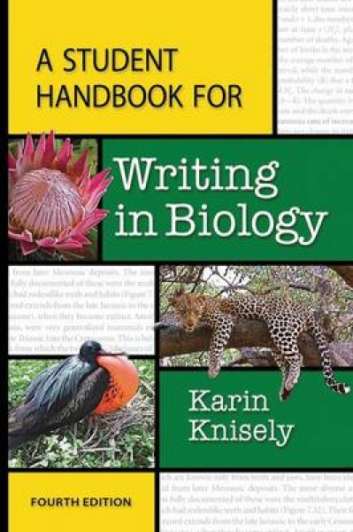 A Student Handbook for Writing in Biology Karin Knisely Paperback New Book Free